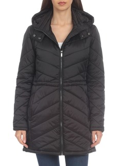 Badgley Mischka Quilted Anorak