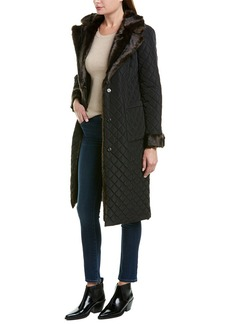Badgley Mischka Quilted Coat