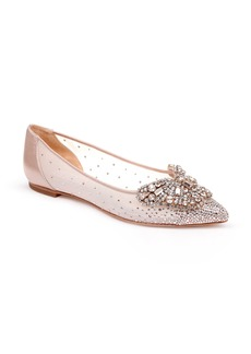 Badgley Mischka Quinn Flat (Women)