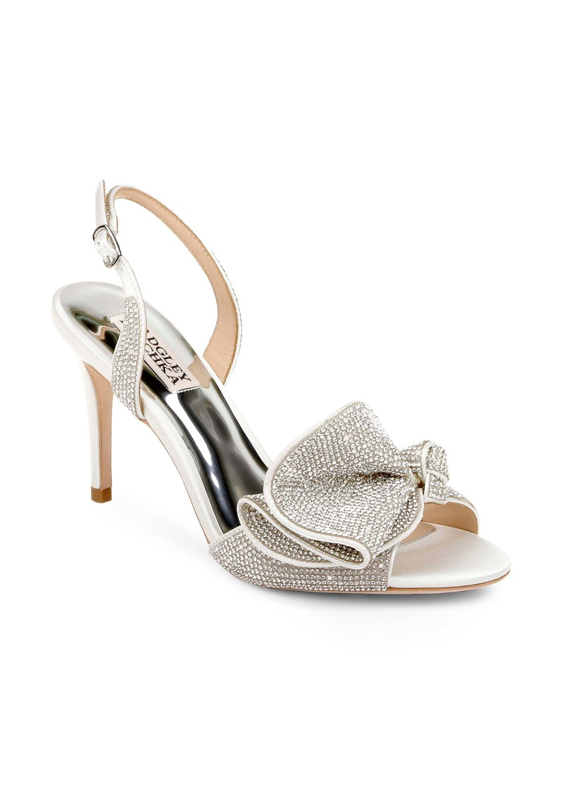 Badgley Mischka Collection Rennie Embellished Slingback Sandal (Women)