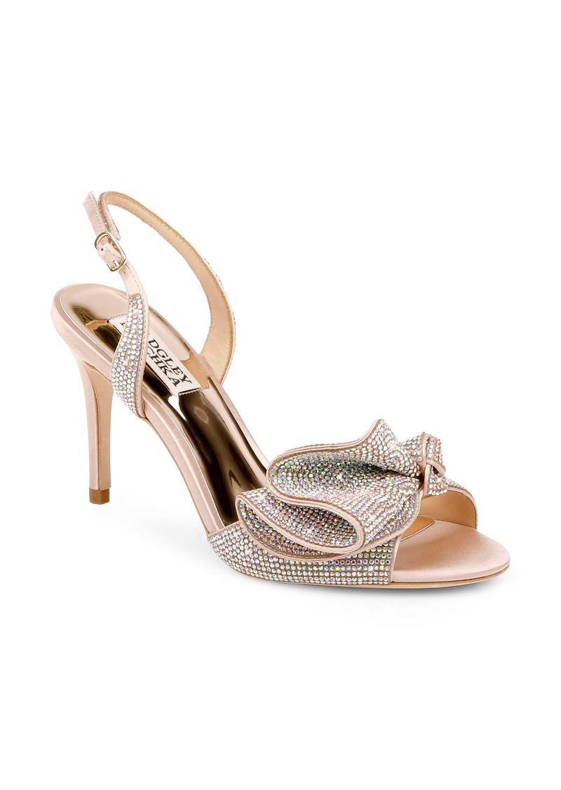 Badgley Mischka Collection Rennie Embellished Slingback Sandal (Women)