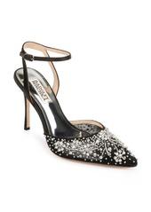 Badgley Mischka Roe Embellished Ankle Strap Pump (Women)