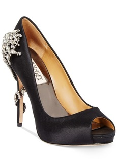 Badgley Mischka Royal Evening Pumps Women's Shoes