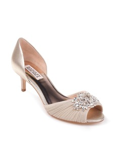 Badgley Mischka Sabine II Peep Toe Pump (Women)