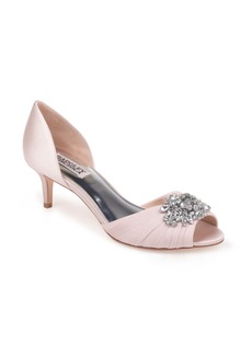 Badgley Mischka Sabine Peep Toe Pump (Women)