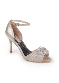 Badgley Mischka Sabrina II Open Toe Pump (Women)