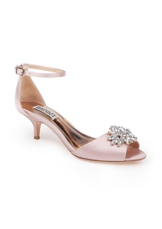Badgley Mischka Sainte Crystal Embellished Sandal (Women)