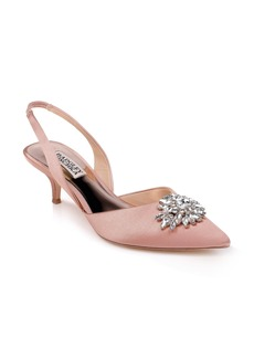 Badgley Mischka Salena Pointy Toe Pump (Women)