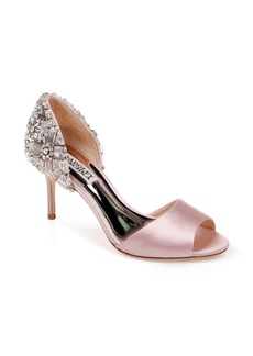Badgley Mischka Sandie Peep Toe Pump (Women)