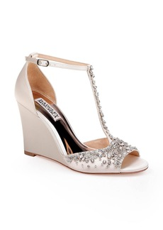 Badgley Mischka Sarah T-Strap Sandal (Women)