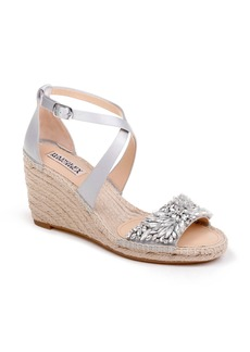 Badgley Mischka Scarlette Espadrille Wedge (Women)