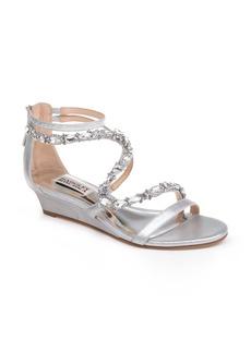Badgley Mischka Sierra Strappy Wedge Sandal (Women)