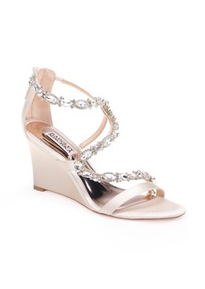 Badgley Mischka Simona Wedge Sandal (Women)