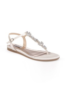 Badgley Mischka Sissi Crystal Embellished Sandal (Women)