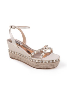 Badgley Mischka Skye Wedge Sandal (Women)