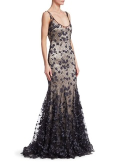 Slip Lace Gown