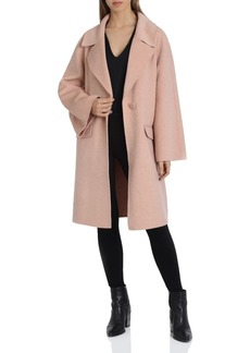 Badgley Mischka Statement Sleeve Coat