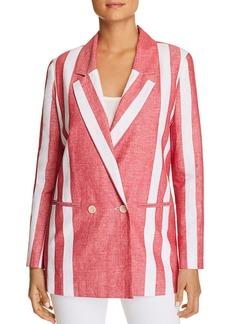 Badgley Mischka Striped Blazer