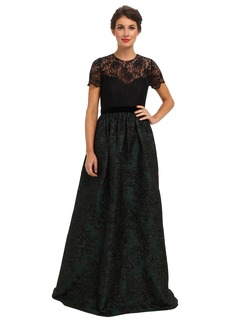 Badgley Mischka T-Shirt Ballgown