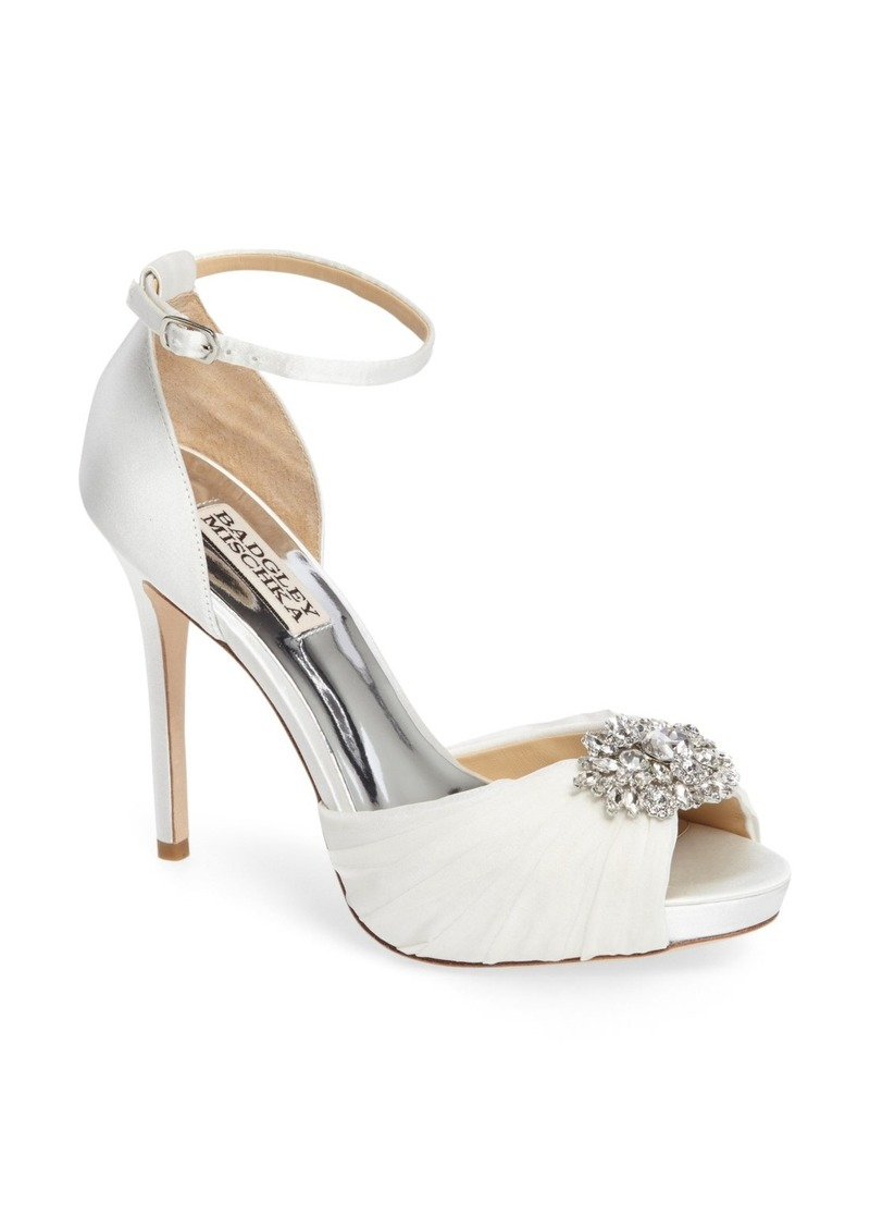 Badgley Mischka Tad Ankle Strap Pump (Women)