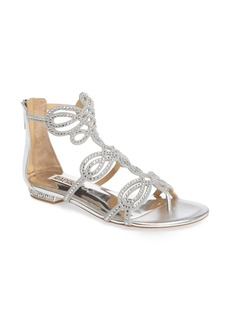 Badgley Mischka Tempe Embellished Sandal (Women)