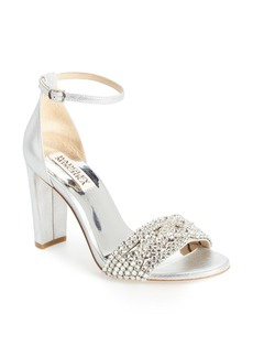 Badgley Mischka Tessa Crystal Embellished Sandal (Women)