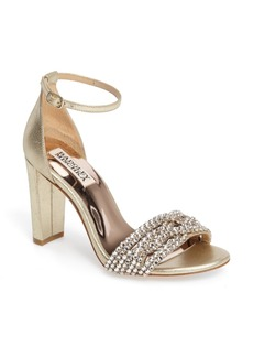 Badgley Mischka Tessa Crystal Embellished Sandal (Women)
