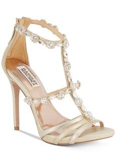 Badgley Mischka Thelma Ii Strappy Evening Sandals Women's Shoes