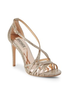 Badgley Mischka Tiller Crisscross Stiletto Sandals