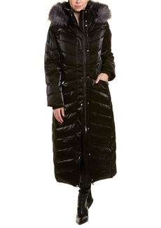 Badgley Mischka Today's Fix Maxi Puffer Coat