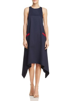 Badgley Mischka Trapeze Midi Dress
