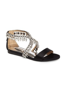 Badgley Mischka Tristen Crystal Sandal (Women)