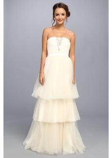 Badgley Mischka Tulle Gown