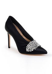Badgley Mischka Vanilla Crystal Embellished Pump (Women)