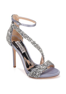 Badgley Mischka Venice Crystal Embellished Strappy Sandal (Women)