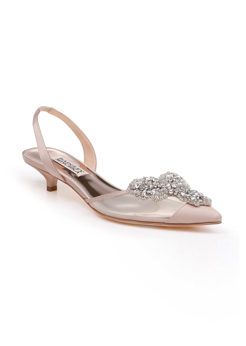 Badgley Mischka Vera Embellished Pump (Women)