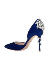 Badgley Mischka Vogue Crystal Embellished d'Orsay Pump (Women)