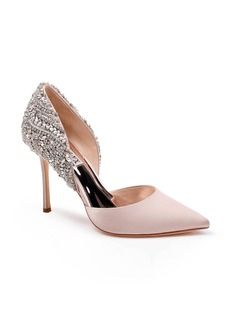 Badgley Mischka Volare Crystal Embellished d'Orsay Pump (Women)