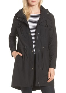 Badgley Mischka Water Repellent Anorak with Stowaway Hood