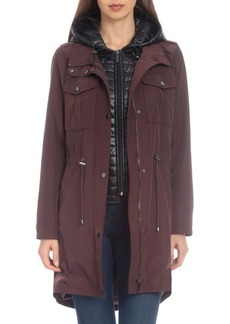 Badgley Mischka Water-Resistant Anorak