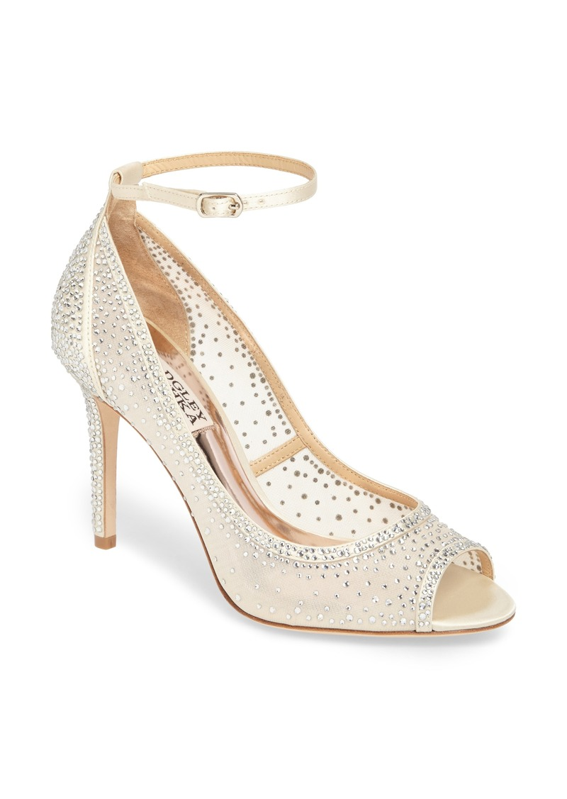 Badgley Mischka Weylin Ankle Strap Pump (Women)