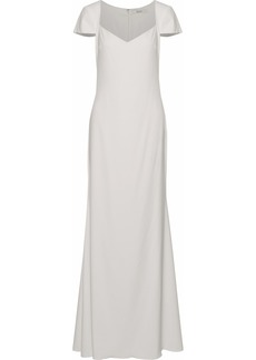 Badgley Mischka Woman Odessa Stretch-crepe Gown Ivory
