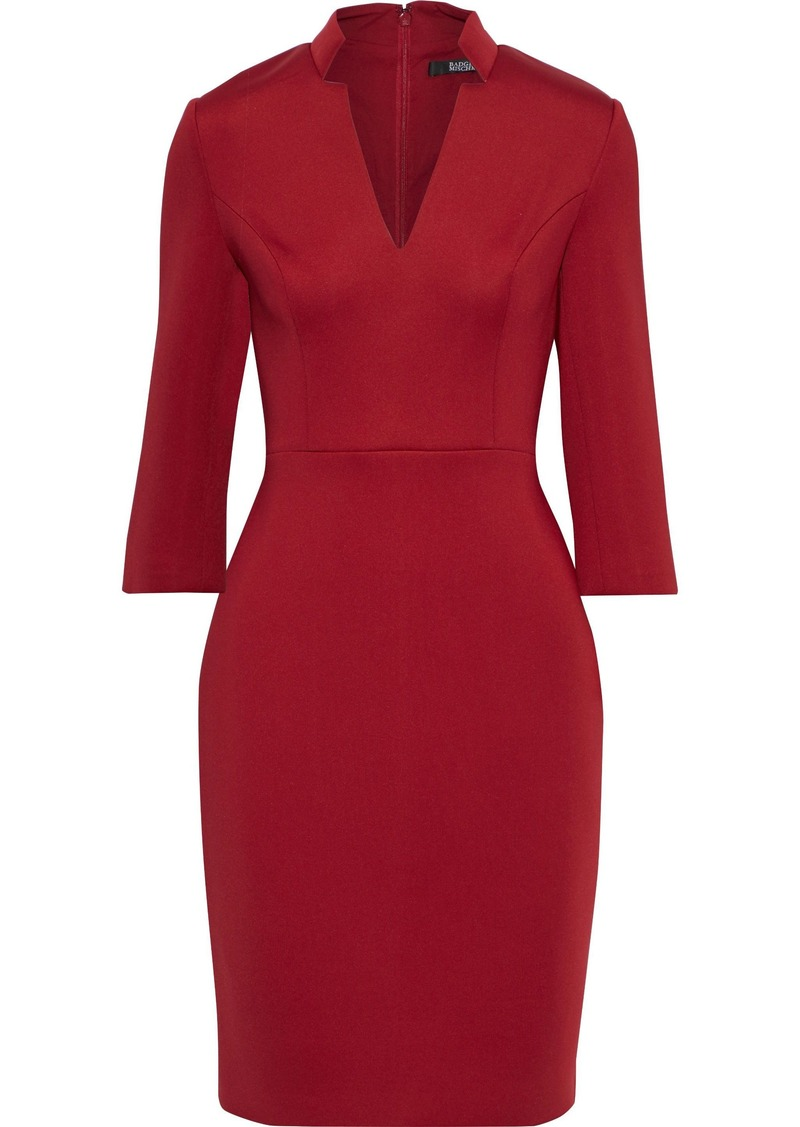 Badgley Mischka Woman Neoprene Dress Claret