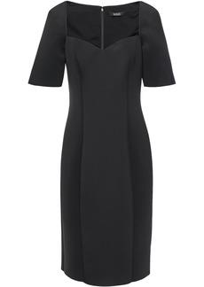 Badgley Mischka Woman Scuba Dress Black