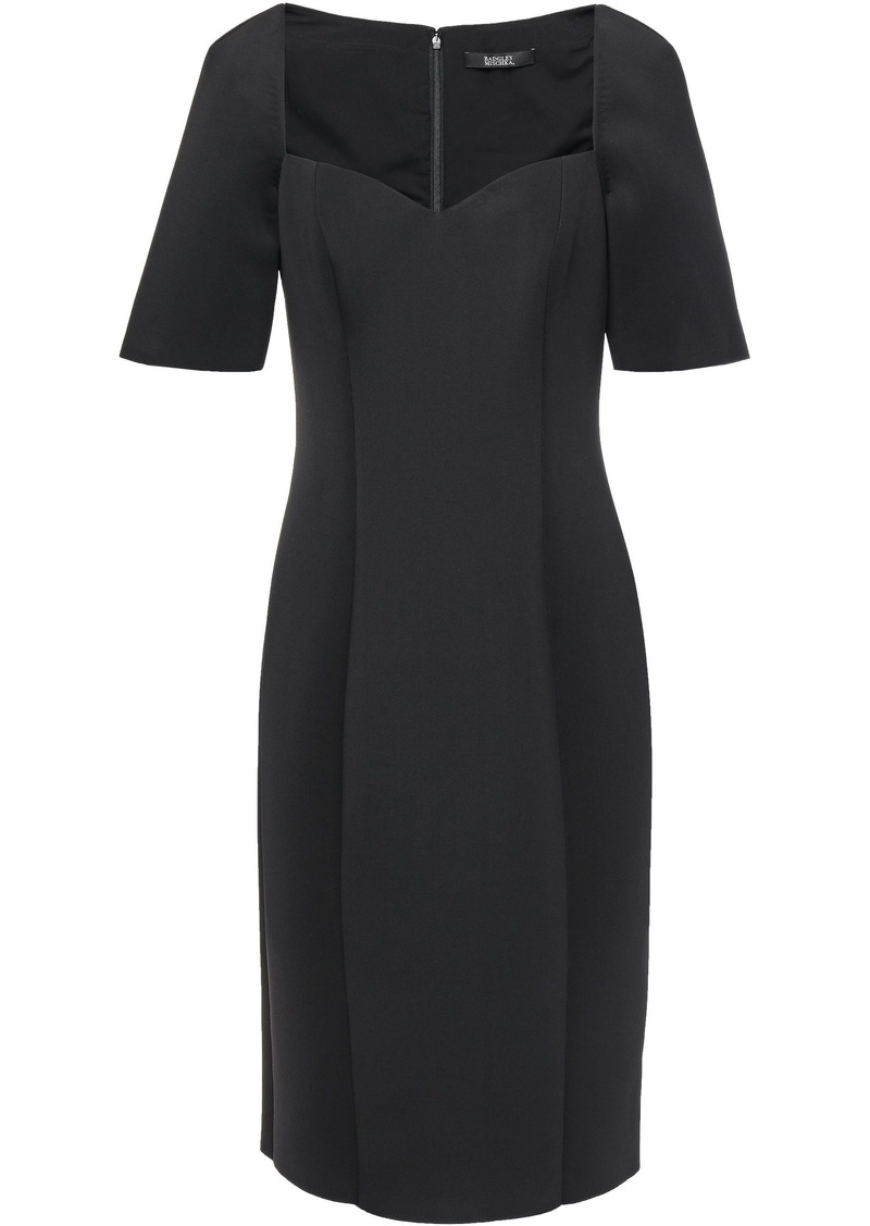 Badgley Mischka Woman Scuba Dress Black
