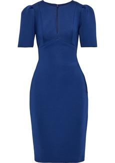 Badgley Mischka Woman Stretch-ponte Dress Royal Blue