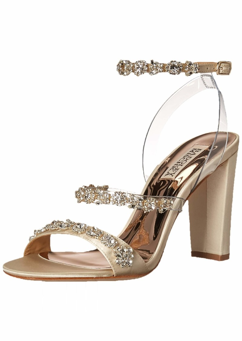 Badgley Mischka Women's ADEL Heeled Sandal   M US