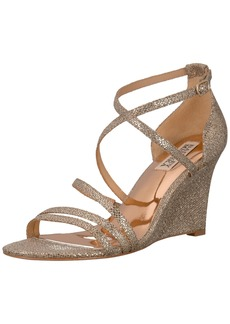 Badgley Mischka Women's Bonanza Wedge Sandal