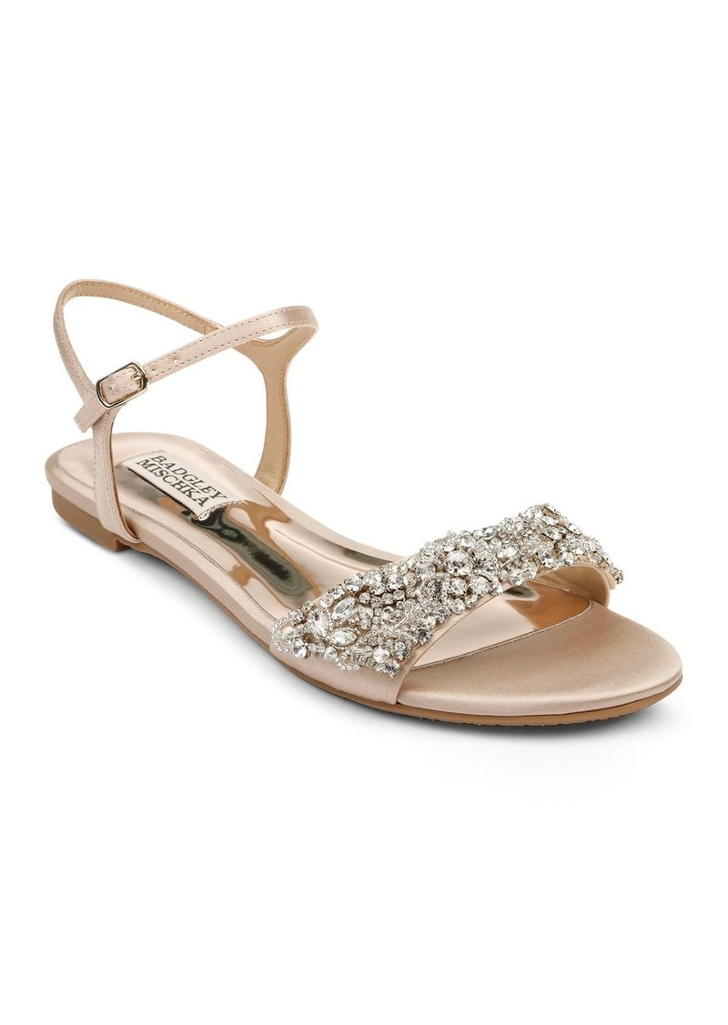 Badgley Mischka Women's Carmella Crystal-Embellished Sandals
