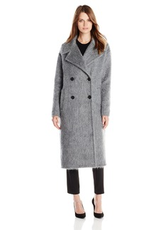 Badgley Mischka Women's Carmen Oversized Wool Mohair Coat